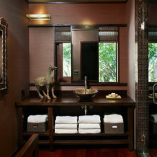 Contemporary Powder Room by Cippananda Interior Design