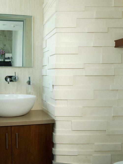 Photos et idées déco de WC et toilettes modernes avec du carrelage ...