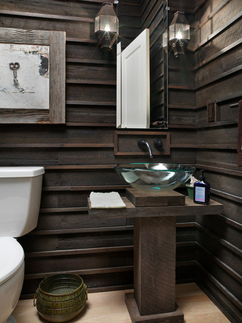 Dark Wood Paneling Houzz