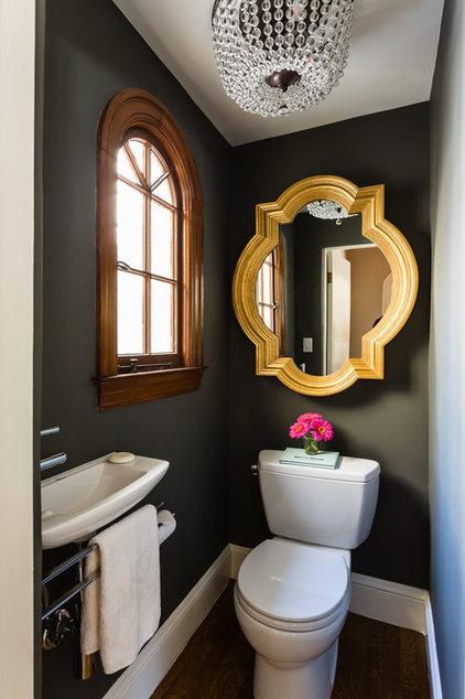 Contemporary Powder Room by JL Interior Design, LLC