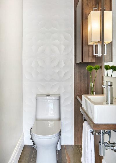 Contemporary Powder Room by MAJ Interiors