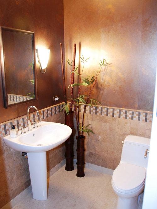 asiatische g stetoilette g ste wc mit porzellan bodenfliesen ideen f r g stebad und g ste wc. Black Bedroom Furniture Sets. Home Design Ideas