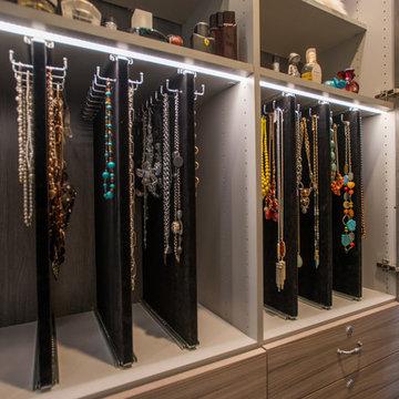 Master Bathroom Vanity w/ Jewelry Storage