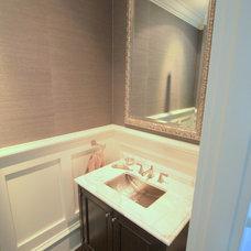 Traditional Powder Room by Etheridge Home Renovation