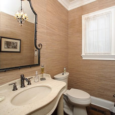 Powder Room by Matthies Builders