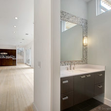 Contemporary Powder Room by Classic Urban Homes