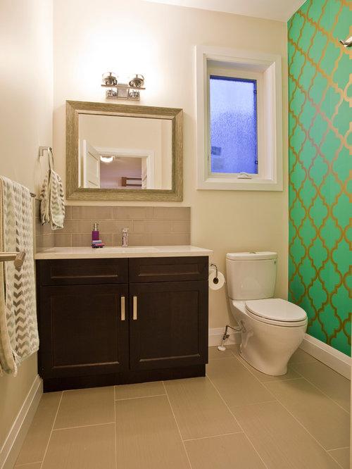 g stetoilette g ste wc mit porzellanfliesen und gr nen w nden ideen f r g stebad und g ste. Black Bedroom Furniture Sets. Home Design Ideas