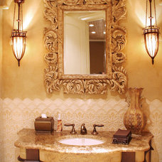 Traditional Powder Room by House of L Interior Design