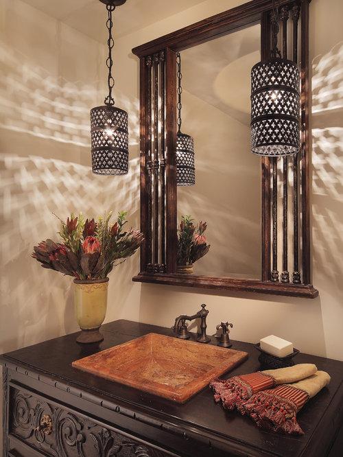 hanging bathroom lights | houzz