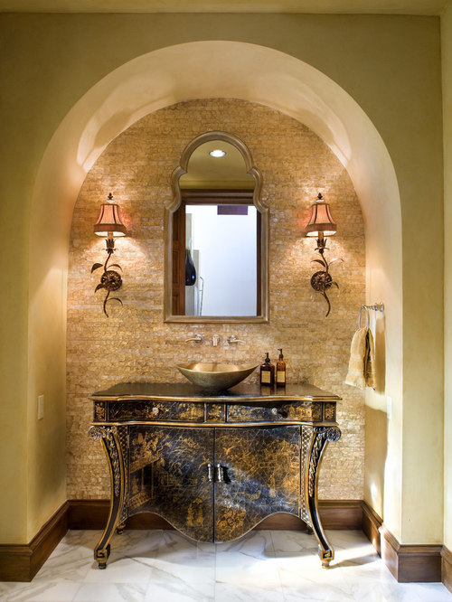 Best Mediterranean Powder Room Design Ideas Amp Remodel