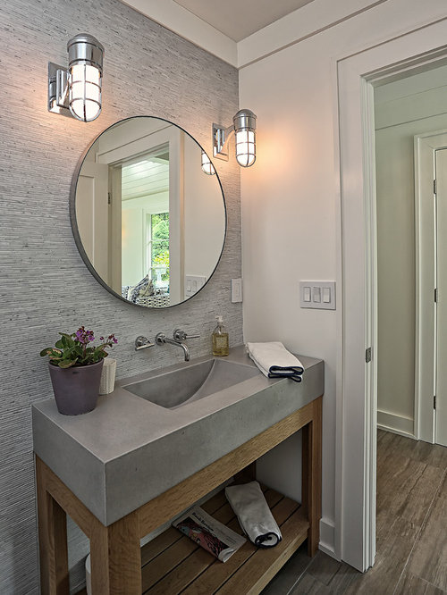 Modern New York Powder Room Design Ideas Remodels Amp Photos