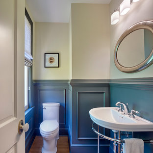 75 most popular small transitional powder room design - Small powder room ideas 2018 ...
