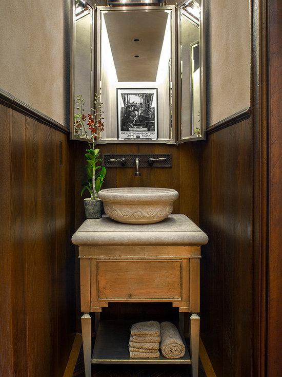 tri-fold vanity mirror   houzz