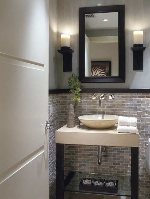 Powder Room Tile Ideas Pictures Remodel And Decor
