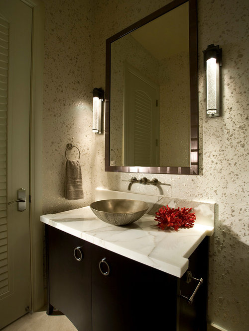 Modern Powder Room Design Ideas Remodels Photos