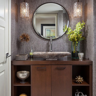 Midcentury Powder Room