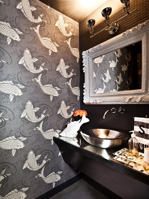 Best Small Bathroom Wallpaper Design Ideas Amp Remodel