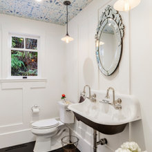 Before and After Powder rooms