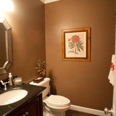 Traditional Powder Room by Distinctive Remodeling Solutions, Inc