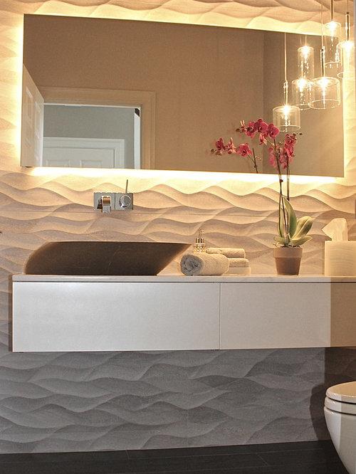 Modern Powder Room Design Ideas Renovations Amp Photos With