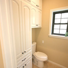 Traditional Powder Room by Texas Bluebonnet Builders