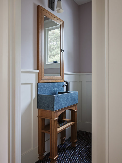 10 All Time Favorite Craftsman Powder Room Ideas