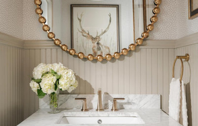 New This Week: 5 Pretty and Practical Powder Rooms