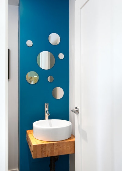 Contemporain Toilettes by Marken Design + Consulting
