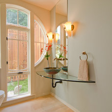 Contemporary Bathroom by Crystal Remodeling Inc