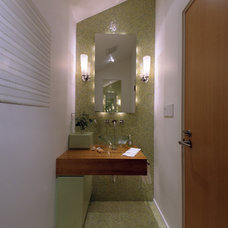 Modern Powder Room by Pamela Pennington Studios