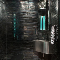 Contemporary Powder Room by Lynbrook of Annapolis, Inc.
