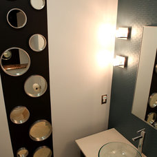 Powder Room by A.S.D. Interiors - Shirry Dolgin, Owner