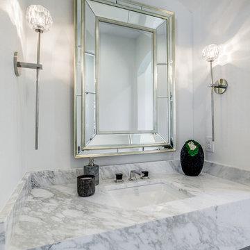 Modern Powder Bathroom