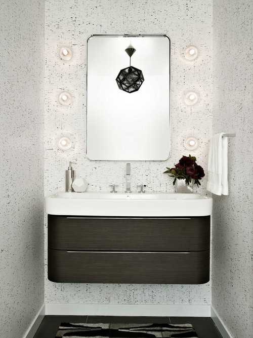 Hanging Vanity Ideas, Pictures, Remodel and Decor