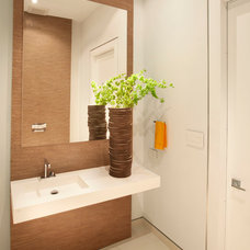 Modern Powder Room Modern Powder Room