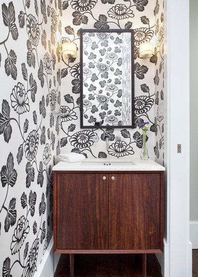 Modern Cloakroom Modern Powder Room