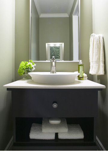 powder room sinks home design ideas pictures remodel and decor. Black Bedroom Furniture Sets. Home Design Ideas