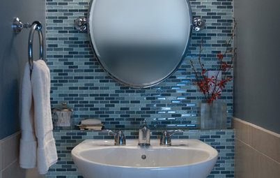 Bejewel Your Home with Colorful Glass Tile