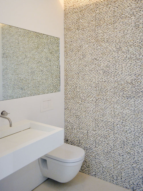 SaveEmail. Pebble Tiles Bathroom Design Ideas  amp  Remodel Pictures   Houzz