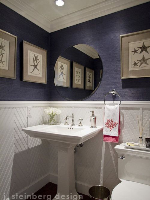 Navy Grasscloth Home Design Ideas Pictures Remodel And Decor