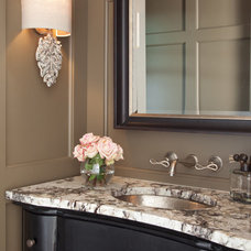 Traditional Powder Room by Heather Scott Home & Design