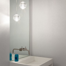 Modern Powder Room by gne architecture