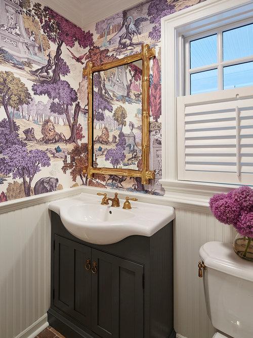 Foto e idee per bagni di servizio bagno di servizio for Idee semplici di mudroom