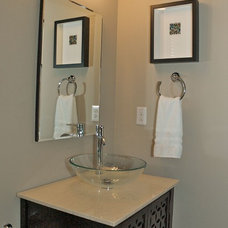 Contemporary Powder Room by Jan Niels