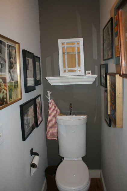 Eclectic Powder Room my favorite things