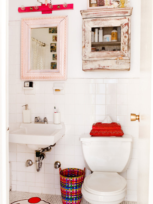 Bathroom Trash Can Houzz - Bathroom garbage can with lid for bathroom decor ideas