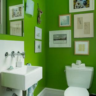 Exemple d'un WC et toilettes tendance.