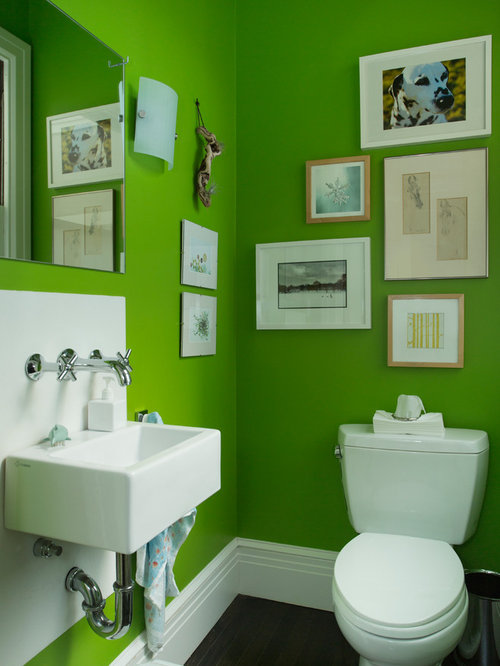 Bright color bathroom ideas pictures remodel and decor for Bright coloured bathroom accessories