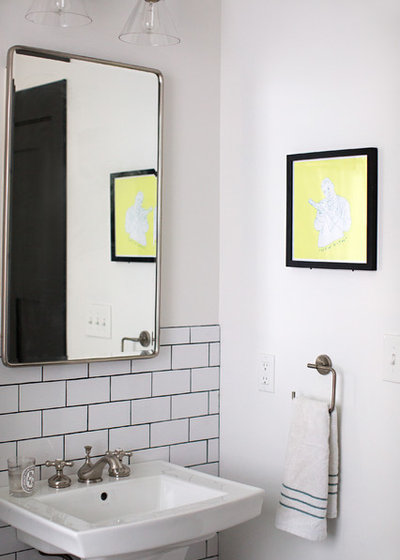 Industrial Powder Room by Parisi Images