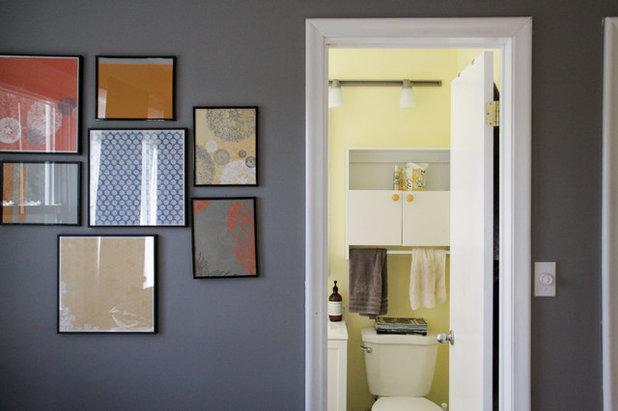 Eclectic Powder Room by Kaia Calhoun